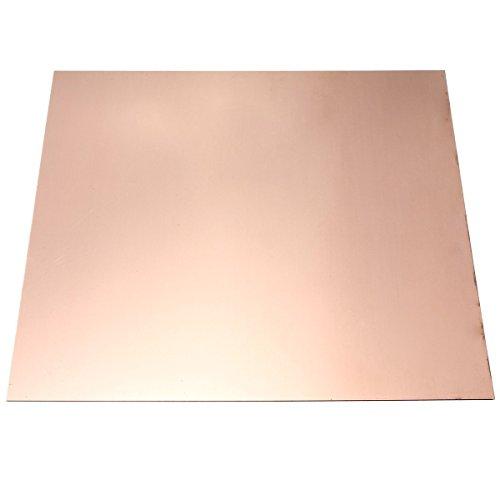 Kupfer Blatt (TOOGOO (R) Kupfer Blatt 1mm 100 * 100MM)