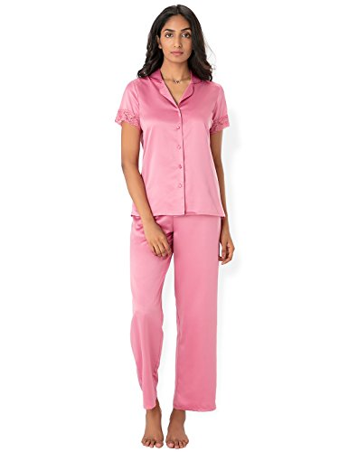 Prettysecrets Satin Top & Pajama Set