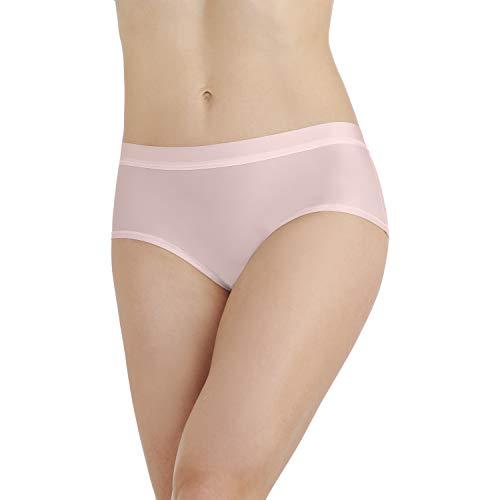 Vanity Fair Damen Light and Luxurious Hipster Panty 18195 Hipsterhöschen, Sheer Quartz, Medium - Hipster Sheer Panties