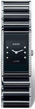 Rado Damen-Armbanduhr Analog Quarz Keramik