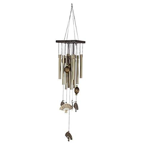 YESURPRISE Carillons à vent Wind chime Event Wind chimeail Bronzé Vintage Métal