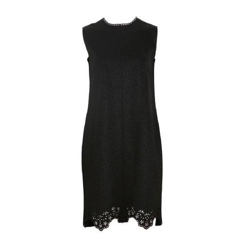 Siste's Women's Lasercut Dress In Size M Black