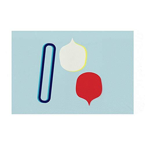 LINGZHIGAN Kreative Design Kleine Kastanien Serie Cartoon Schlafzimmer Tür Matte Saugfähigen Bodenmatte 40 * 60 cm - Kastanien-serie