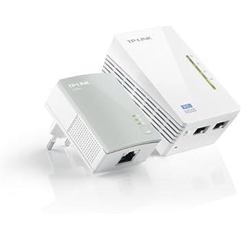 TP-Link AV500 TL-WPA4220 KIT - Extensor de red por línea (500 Mbps Powerlines, 300 Mbps WLAN, HomePlug, Fast Ethernet, IPTV, clonado WiFi)