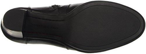 Tommy Hilfiger Damen J1285akima 8a Kurzschaft Stiefel Schwarz (black 990)