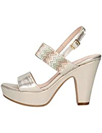 Martina B Mbss18-462-sl Sandale Femme cuir cuir - Chaussures Sandale Femme