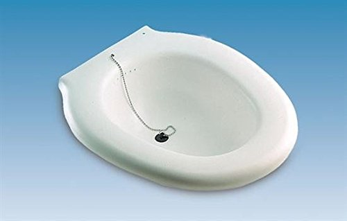 Bidet portatile in plastica adattabile al sedile del wc...