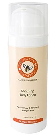 Lotion corporelle - Fleur d'oranger – Soin corporel hydratant et nourissant – Crème excellente pour hydrater votre peau à tout moment ou après le bain