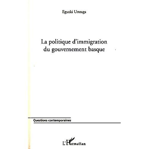 La politique d'immigration du gouvernement basque