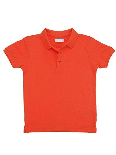 Mayoral 28-00150-034 - Polo Kurzarm Basic für Jungen 9 Jahre (134cm) Nektar
