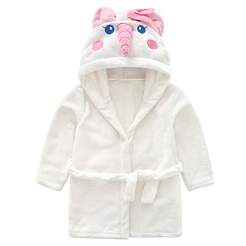 Niños Albornoz Unicornio Pijamas Camisón Toalla de Baño Bata de Baño