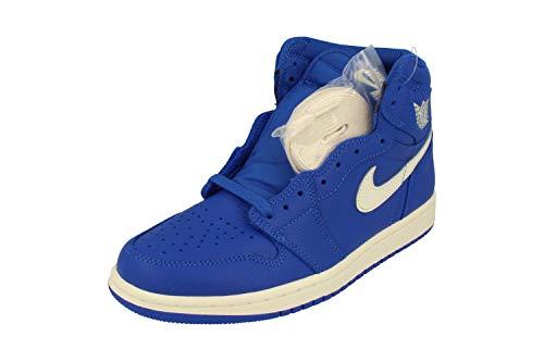 Nike Air Herren Jordan 1 Retro High Og Fitnessschuhe, Blau - blau - Größe: 43 EU