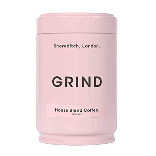 Grind Organic Coffee, House Blend, Ground Coffee (227g Tin)