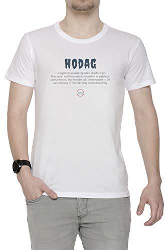 een Herren T-Shirt Rundhals Weiß Kurzarm Größe M Men's White Medium Size M ()