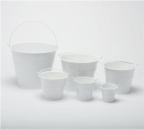 Pack of 5 White 12.5cm (5