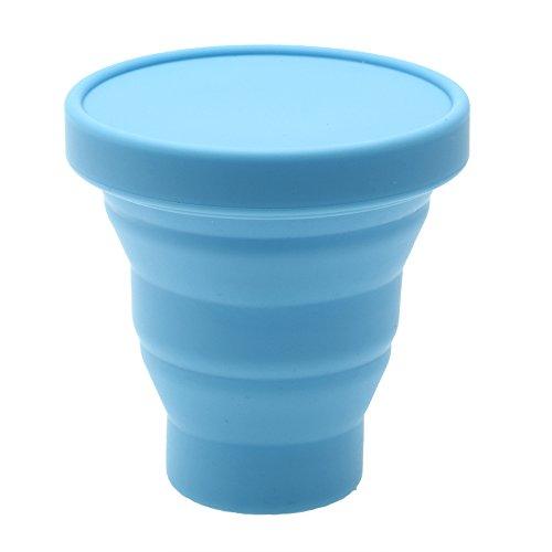 200ml-bicchiere-da-te-pighevole-in-silicone-blu-da-viaggio-campeggio