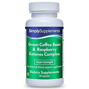 Grüne Kaffeebohne & Himbeerketon Komplex – Geeignet für Veganer – 60 Kapseln – SimplySupplements