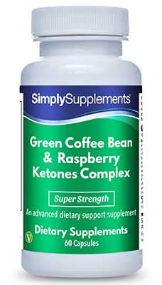 Grüne Kaffeebohne & Himbeerketon Komplex - Geeignet für Veganer - 60 Kapseln - SimplySupplements