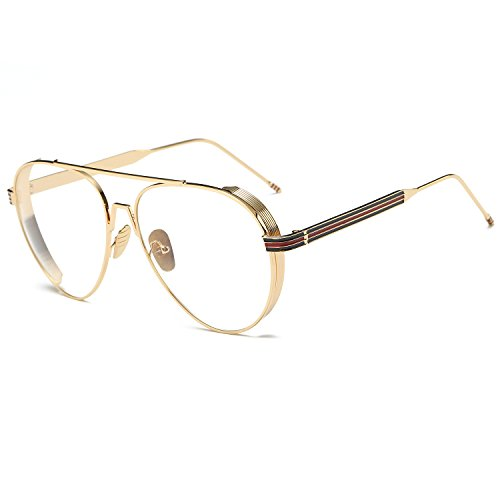 luxury-men-aviator-classic-eyeglasses-gold-metal-spectacle-frame-clear-glasses-women-optical-glasses