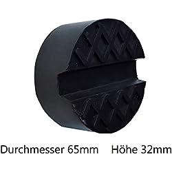 KeraFlow Coussin en Caoutchouc Universel pour cric Adaptateur pour Roue de pneus d'hiver, pneus d'été et pneus de Levage 65 mm x 32 mm