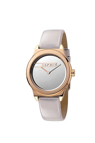Esprit Womens Analogue Quartz Watch with Leather Strap ES1L019L0055