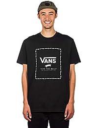 58b4e1f7a210 Vans T-Shirt Print Box Nero-Barbed Wire
