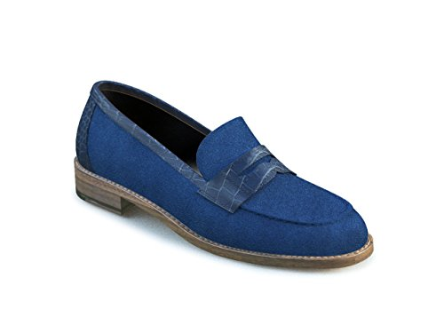 DIS - Laura – Mocassin Penny Loafer – Femme Multicolore