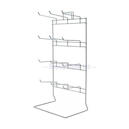 12 gancio bancone stand in bianco (j50)