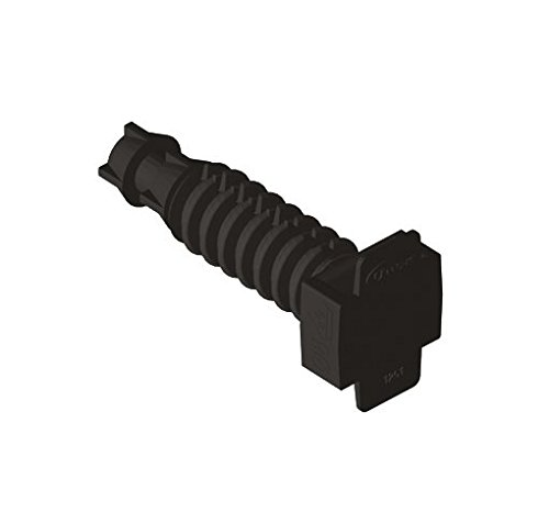Unex 1251U63X Taco Druck distanciador, Farbe schwarz, 8Polyamid, Paket von 1000