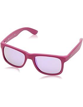 Ray-Ban Justin RB4165 - Gafas de sol Unisex, Morado (pink 60894V), 51 mm