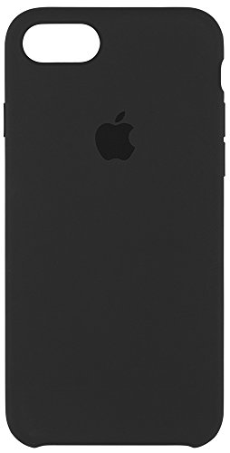 Apple mmw82zm/a custodia in silicone per iphone 7, nero