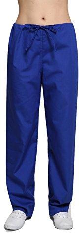 Lister Unisex-Krankenhaus-Bekleidung / Arzt-Uniform, Hose in verschiedenen Farben, Größen XS bis 4XL Gr. Medium, königsblau (Royal Blue Scrub Hose)