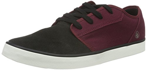 Volcom Herren Grimm 2 Shoe Low-Top, Rot (Deep Red), 43 EU (Deep Cut Low)
