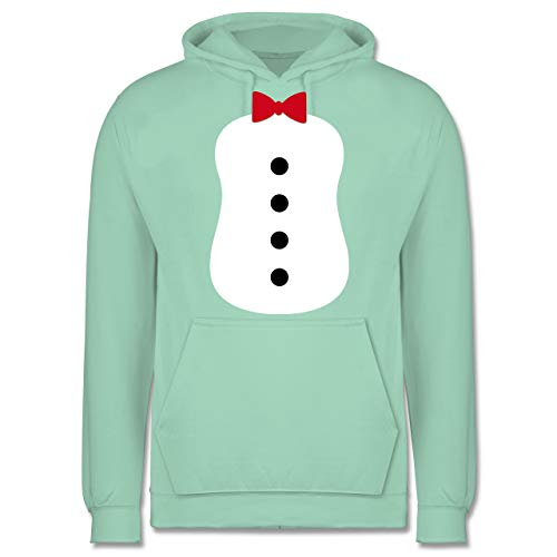 Karneval & Fasching - Pinguin Karneval Kostüm - XL - Mint - JH001 - Herren - Pinguin Hoodie Für Erwachsene Kostüm
