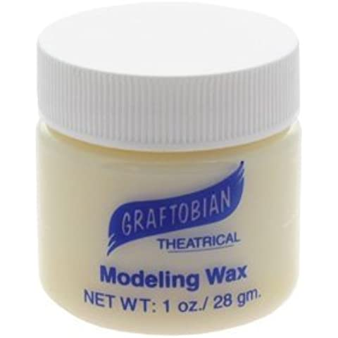 Modeling Wax - Bone Color - 1 oz. Jar by Graftobian