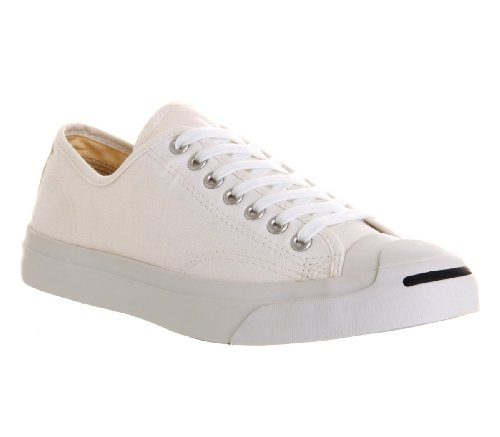 Converse Jack Purcell Leather Ox Herren Sneaker Weiß Weiß