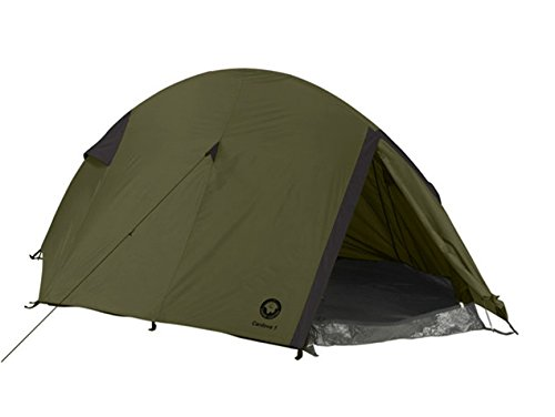Grand Canyon Cardova 1 Trekkingzelt (1-2-Personen-Zelt) olive/schwarz, 302009