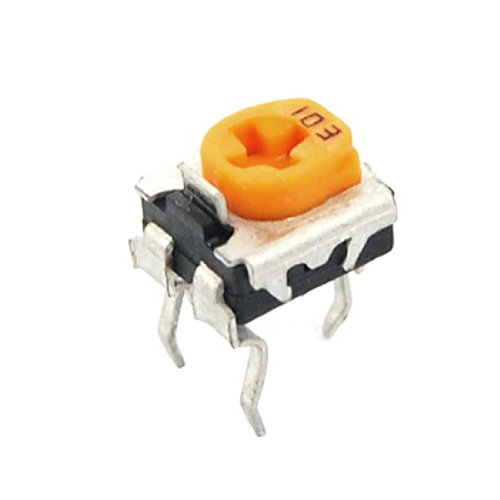 Sourcingmap a11090100ux0440 10 K Ohm Trimmer Potentiometer Pot Widerstände - Mehrfarbig (100) -