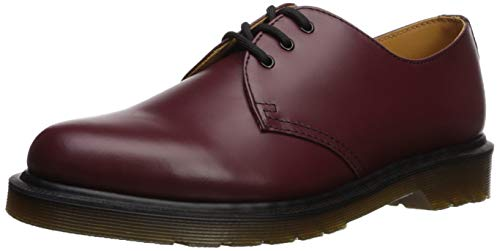 Dr. Martens 1461 Scarpe basse stringate, Unisex, Adulto, Rosso (Cherry Red), 42