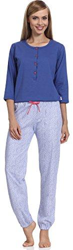 Merry Style Pyjama Femme 1026 Bleu-2A