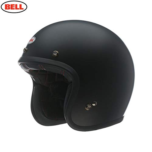 BELL HELMET CUSTOM 500 SOLID BLACK MATT M