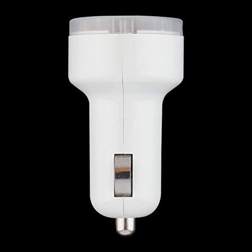 Bianco dell'ugello del bambino a forma di doppio 2 Port Dc 12-24V USB caricabatteria da auto per potere iPhone6   / 6Plus 5S per la macchina fotografica del IPo