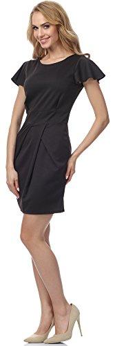 Merry Style Damen Kleid MSSE0014 Schwarz