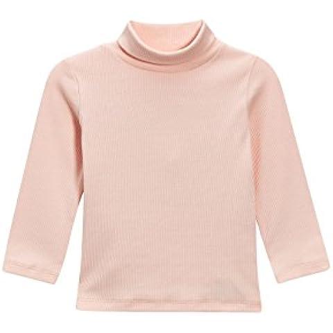 next Niñas Infantes Camiseta Cuello Camisa Polo Manga Larga De Mezcla De Algodón