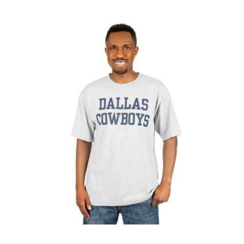NFL Dallas Cowboys Herren-T-Shirt, kurzärmelig, Jungen, DCM Coaches Mens SS, grau, XXXX-Large