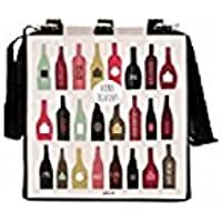 Sac cabas pour 6 bouteilles de vin - Derrière La Porte