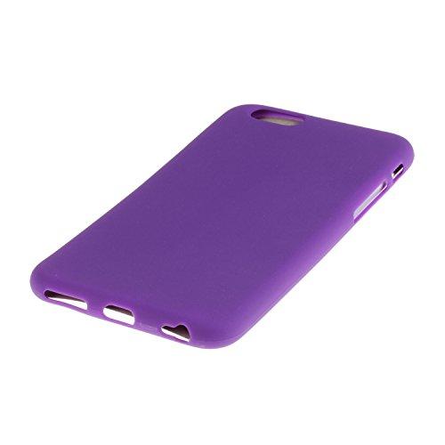 iPhone 6S Coque,iPhone 6 Case,iPhone 6 Cover - Felfy Cas Ultra léger Mince Slim Gel Souple Soft Flexible TPU Silicone Fashion Couleurs de Bonbons Etui Couverture de Protection Bumper Anti Rayures Anti Violet