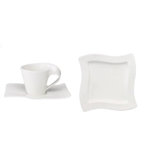 Villeroy & Boch 1025258827 New Wave Kaffee-Set 12-teilig
