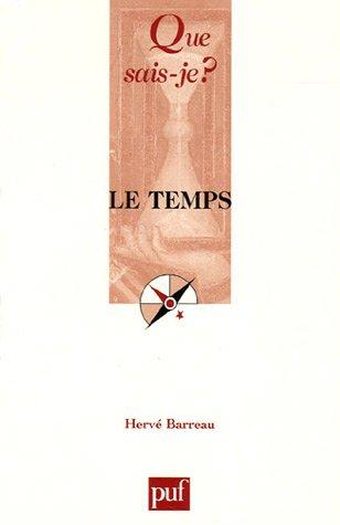 Le temps par Hervé Barreau