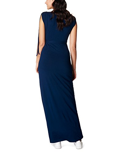 Noppies Dress Nurs Long May 70213, Vêtements de Maternité Femme Blau (Midnight Blue C163)